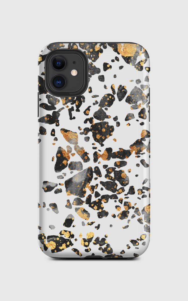 Gold Speckled Terrazzo - iPhone