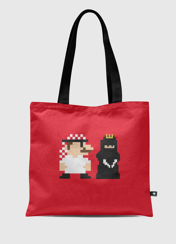Mario and Princess Tote Bag