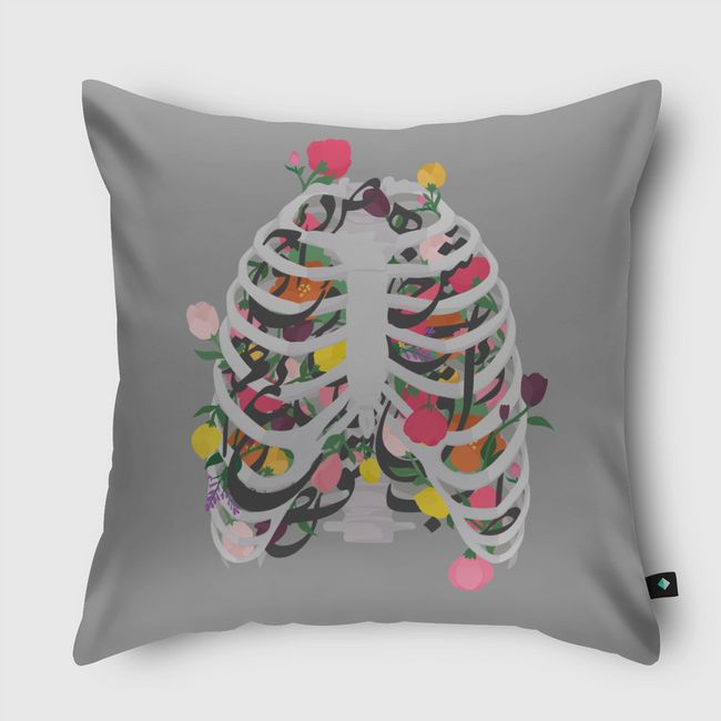 Rib cage - Throw Pillow