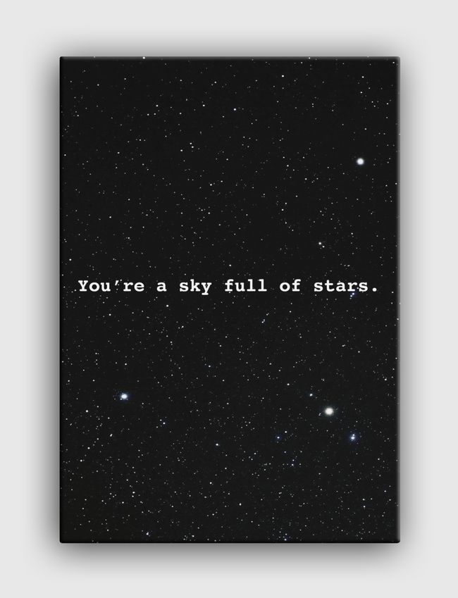 Sky full of stars  - undefined