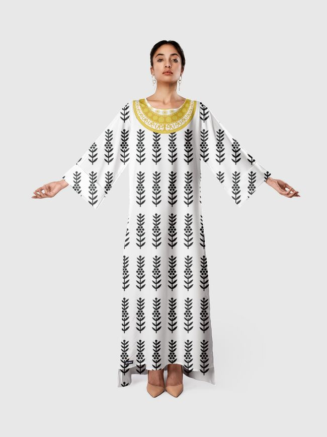 The Majestic Jewel  - Long Sleeve Dress
