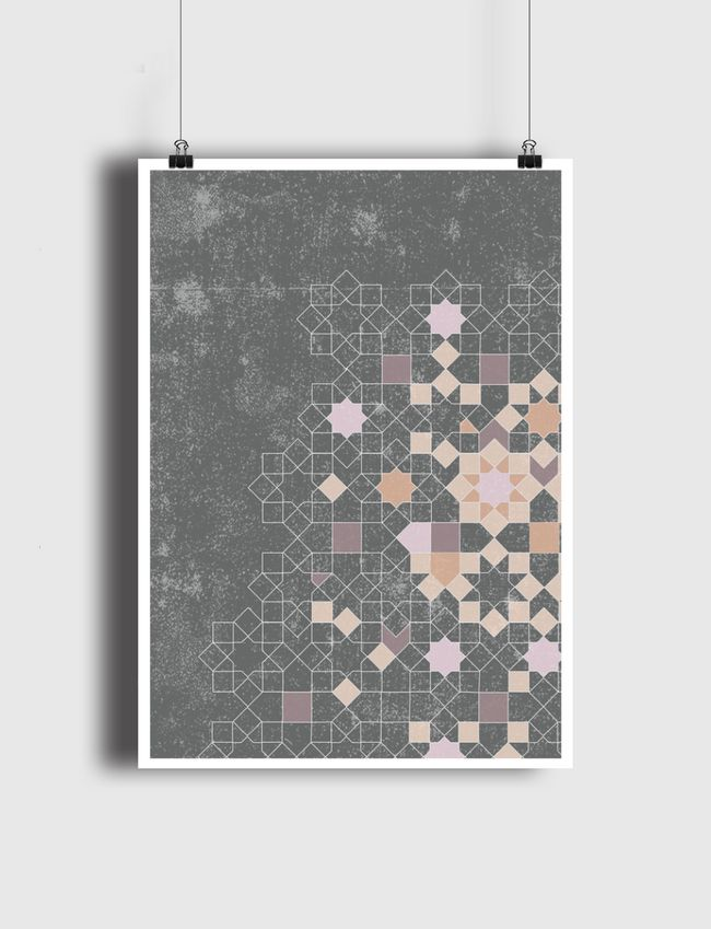 ISLAMIC PATTERNS REDEFINED - Poster