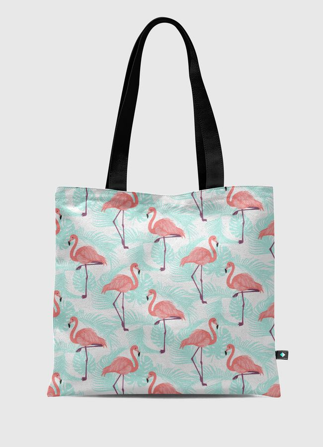 Flamenco summer pattern - Tote Bag