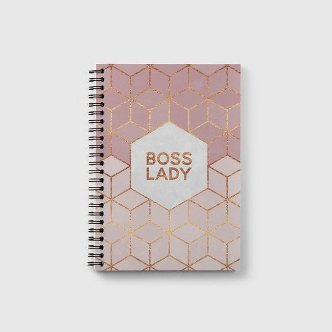 Boss Lady - Notebook