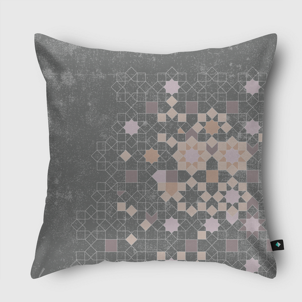 ISLAMIC PATTERNS REDEFINED Throw Pillow