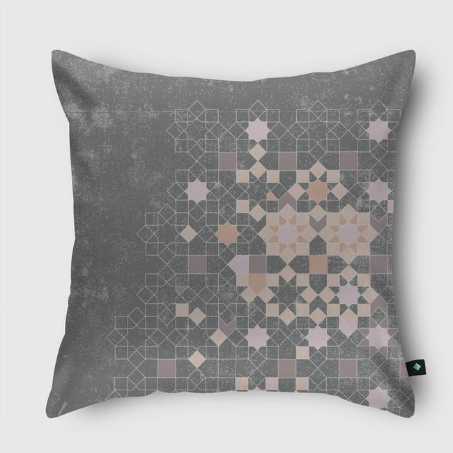 ISLAMIC PATTERNS REDEFINED - Throw Pillow