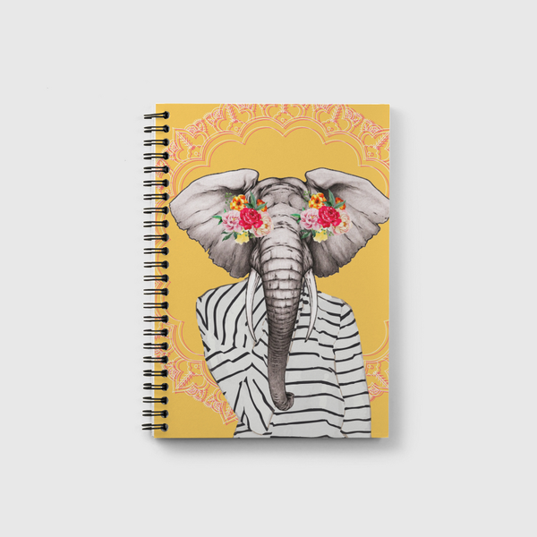 Modern elephant Notebook