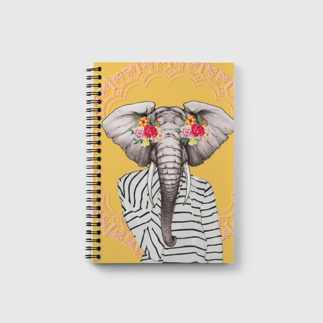 Modern elephant - Notebook