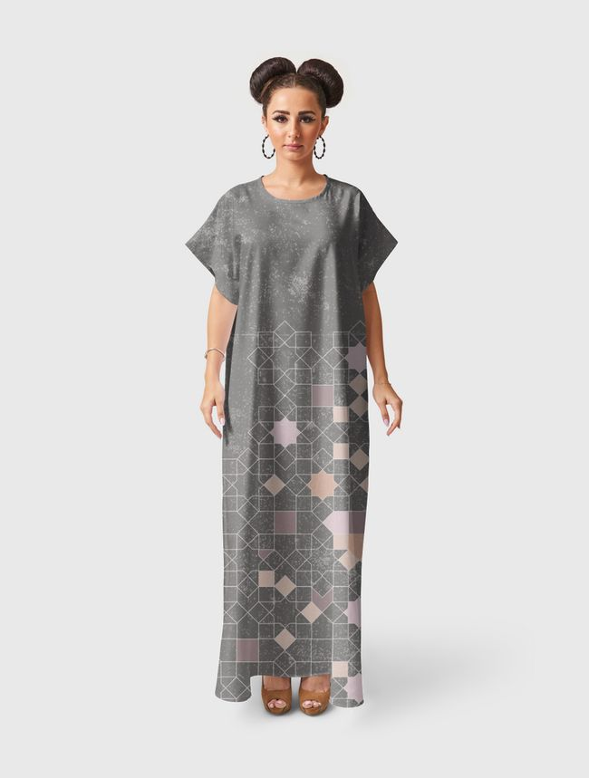 ISLAMIC PATTERNS REDEFINED - Short Sleeve Dress