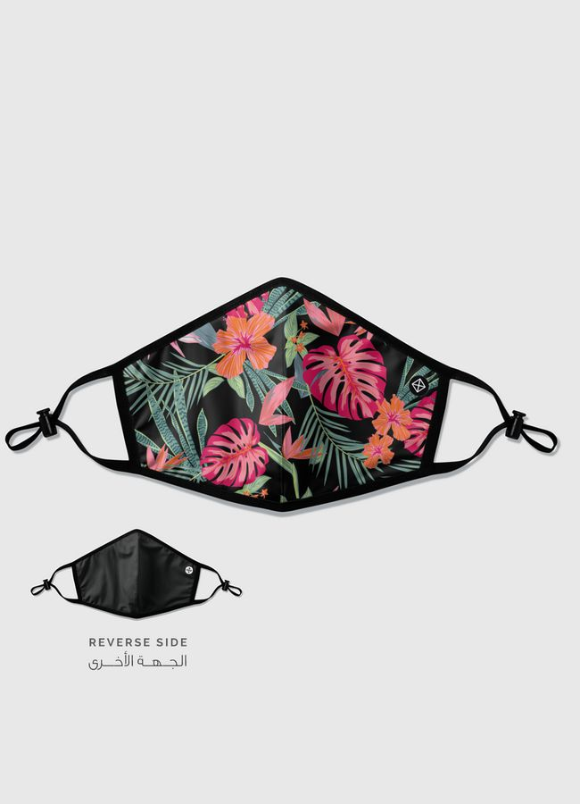 Floral Jungle - Reversible Mask