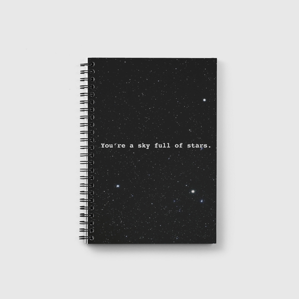 Sky full of stars  Notebook