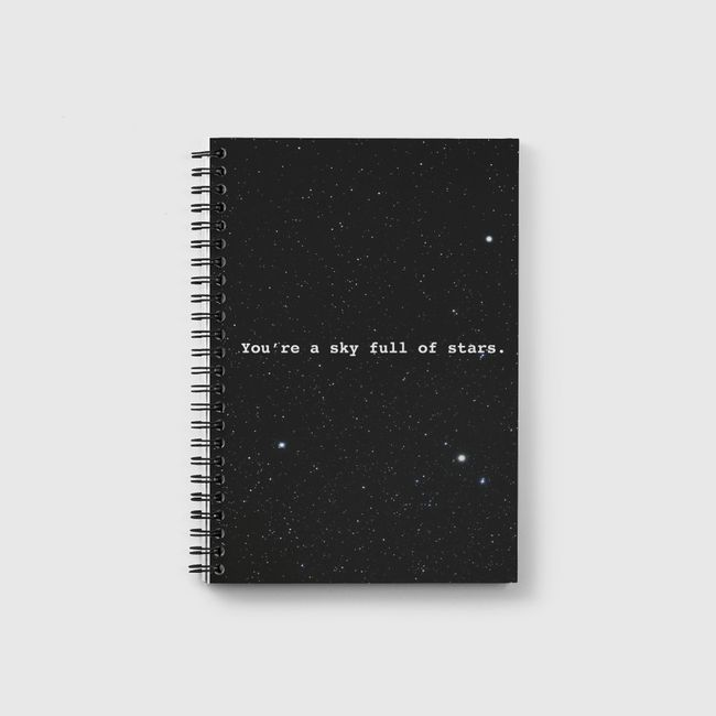Sky full of stars  - Notebook