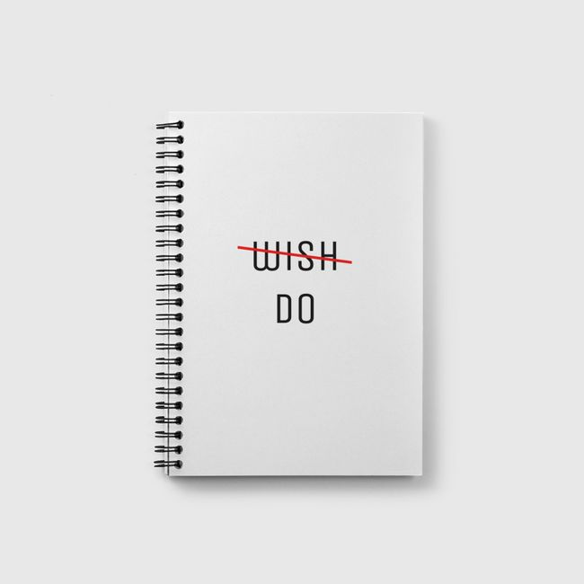 wish/do - Notebook