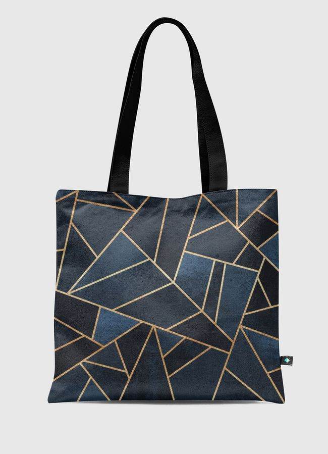Navy Stone - Tote Bag