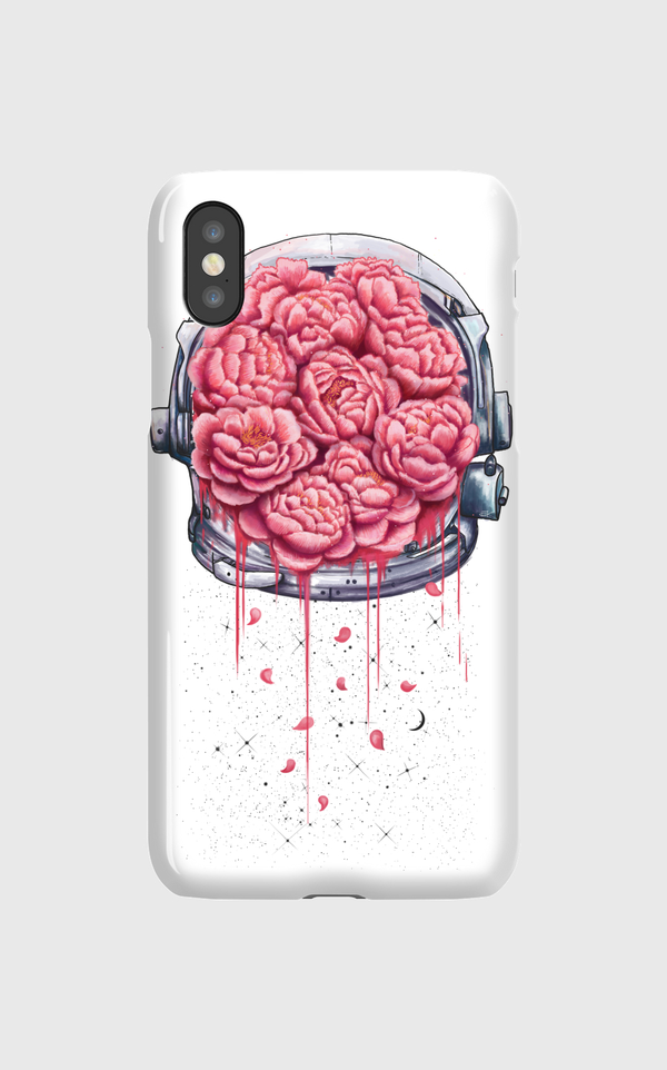 Cosmic peonies iPhone