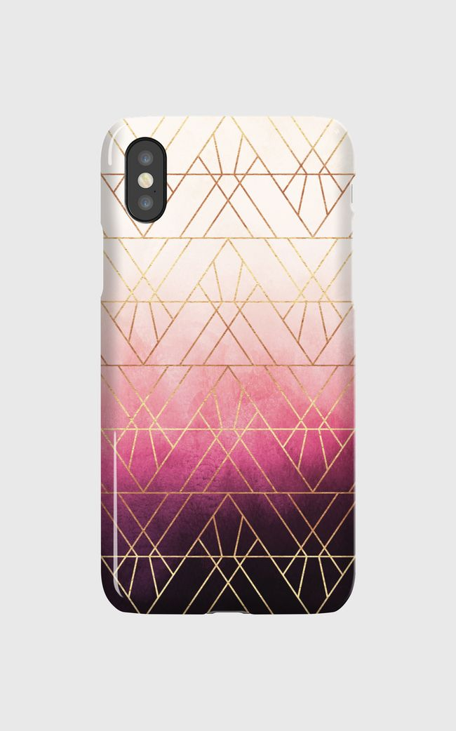 Pink Ombre Triangles - undefined