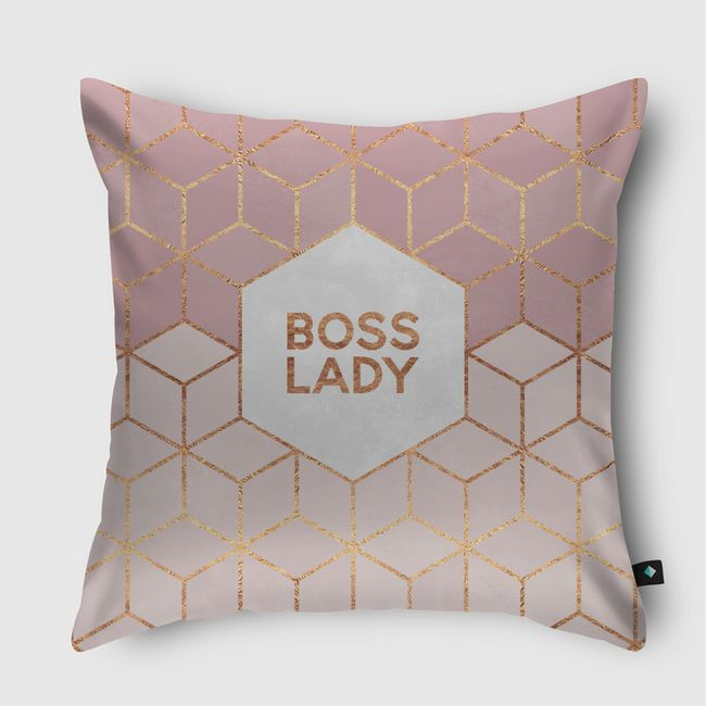 Boss Lady - Throw Pillow