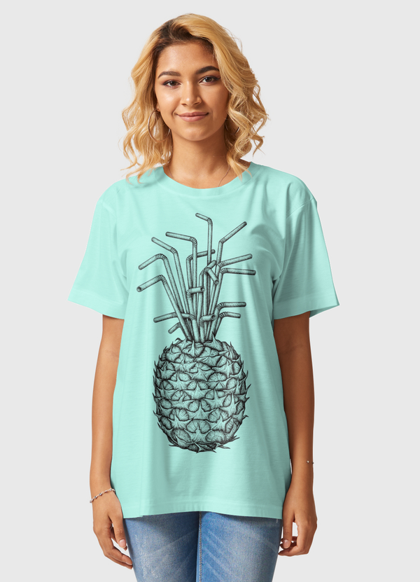 Pineapple crave Women Graphic T-Shirt