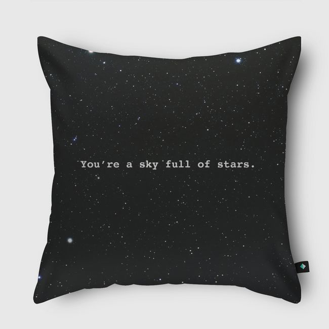 Sky full of stars  - Throw Pillow
