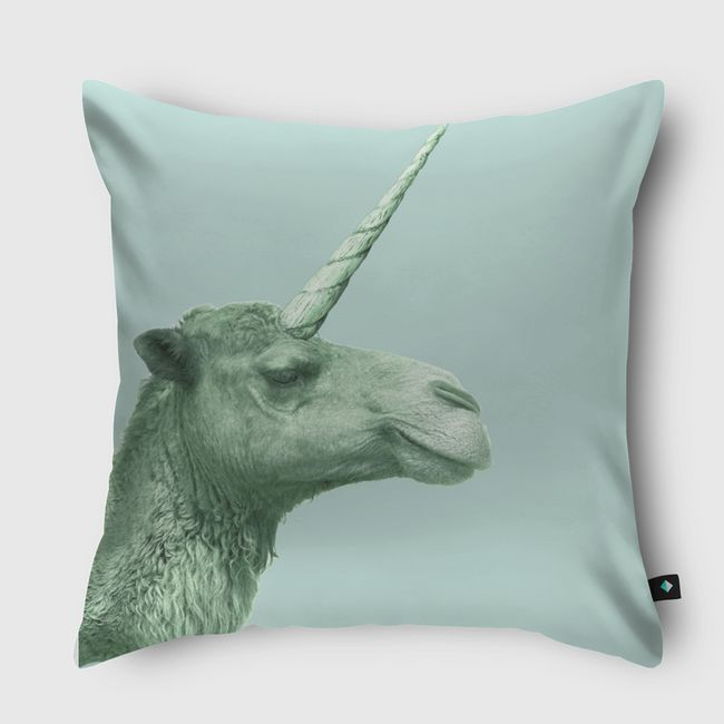 unicamel - Throw Pillow
