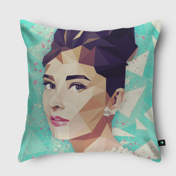 The Hepburn Class Throw Pillow