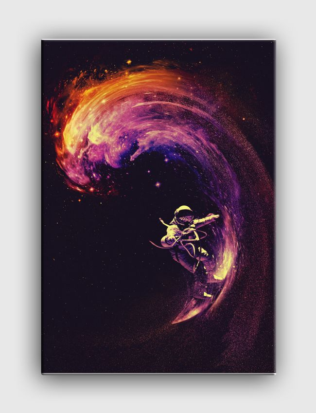 Space Surfing - Canvas