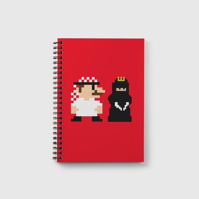 Mario and Princess - Notebook