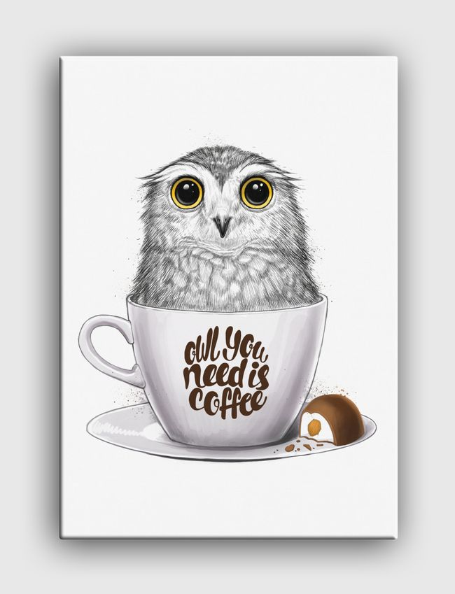 Owl you need is coffee - undefined