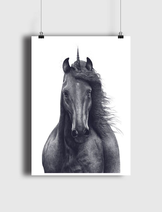 Black unicorn - Poster