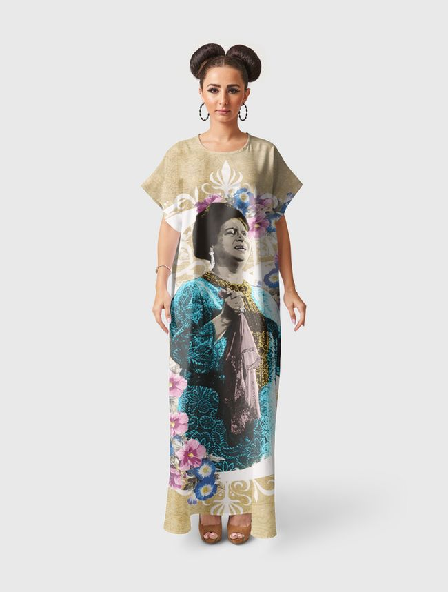 Umm Kulthum - Short Sleeve Dress