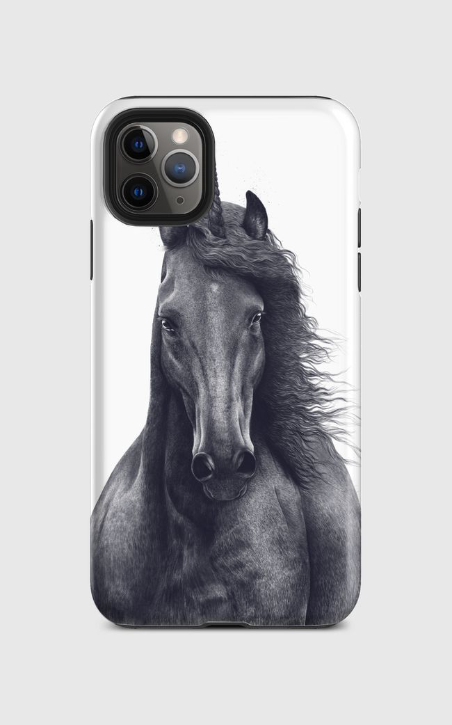 Black unicorn - iPhone