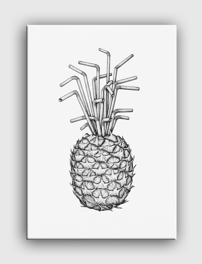 Pineapple straws - undefined