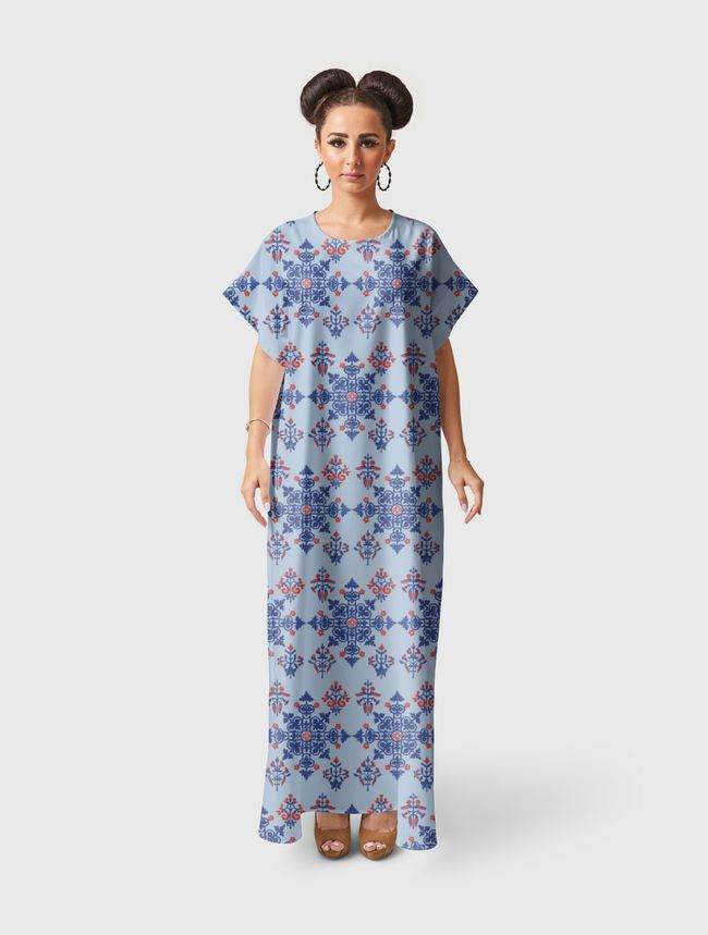Arabi Deco - Short Sleeve Dress