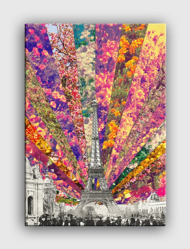 Vintage Paris - Canvas
