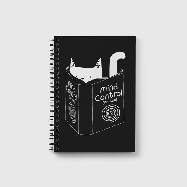 Mind Control for Cats - Notebook